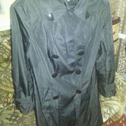 Women's raincoat used