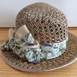 Шляпка на лето, арт 003, размер 55-57