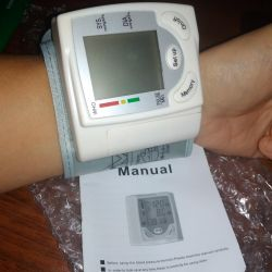 Wrist blood pressure monitor (new)