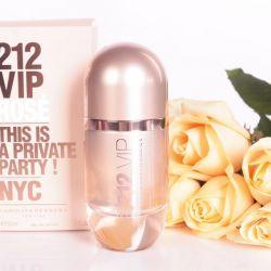 Carolina herrera 212 vip τριαντάφυλλο γυναικείο άρωμα