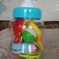 Ένα σύνολο κουδουνιών σε ένα νέο μπουκάλι