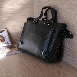 Кожаная мужская сумка.Россия