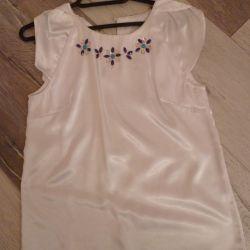 Нарядная праздничная блузка Zara