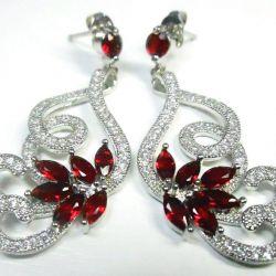 Decoration, accessory. Graceful Earrings