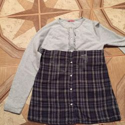 Blouse for girls height 146-152