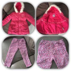 Фирменные куртки и брюки на весну mothercare