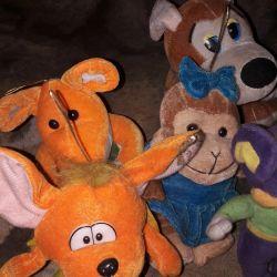 игрушка мягкие