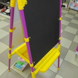 NEW Nika Kids Folding Easel -two-sided