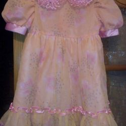 Платье нарядное- новое 6-7л