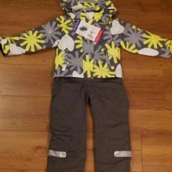 New demi-season jumpsuit for a girl 110cm (+6)