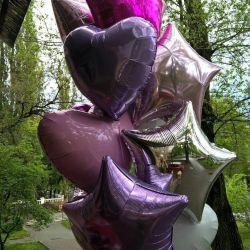 Helyum ile folyo balonlar