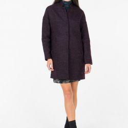 Мягкое демисезонное пальто Befree