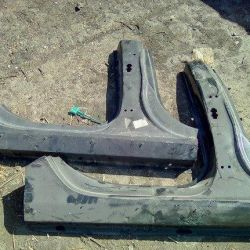 Audi A4 (B8) 2007-2015, threshold with a rack 8K5809848