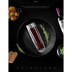 Διπλό τοίχωμα από γυαλί για σαμπάνια, κρασί και