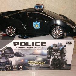 Polis arabası trafosu