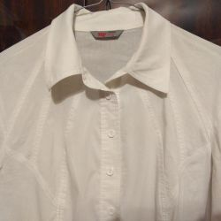 white women's blouse