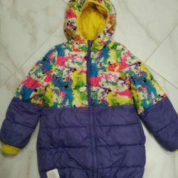 Bir kız için kışlık ceket