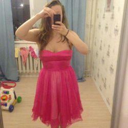 Noul rochie de seară roz