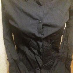 Μαύρο γυναικείο πουκάμισο
