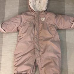 Jumpsuit warm baby go 80 cm