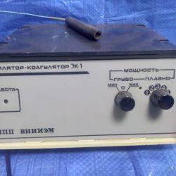 συσσωρευτή αποτριχωτή EK-1b / y, που λειτουργεί