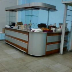 Bar counter and bar accessories,