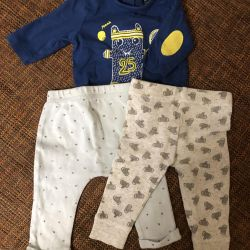 Baby clothes from 0 to 3 months
