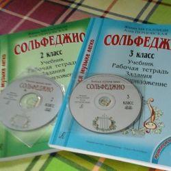 Solfeggio ders kitapları sesli uygulama ile 2.3 ders