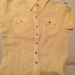 Μπλούζα κίτρινο