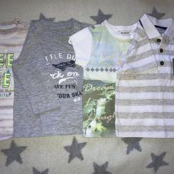 Fransa'da üretilen erkek tişörtleri