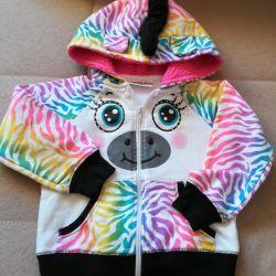 Sweatshirt for a girl. New