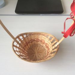 Корзина-плетенка