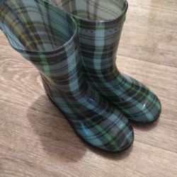 Children's rubber boots, 28 sizes