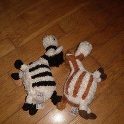 Zebra și girafa