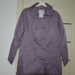 New raincoat r.48