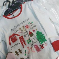 Mothercare Christmas Pajamas