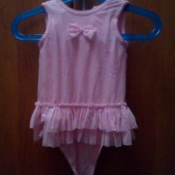 Prensesler ABD için Yeni Bodysuit Elbise