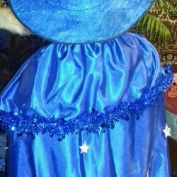 Carnival costume of the magician star