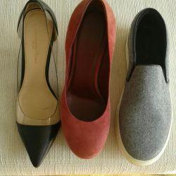 Suede παπούτσια κατασκευασμένα στην Ιταλία μέγεθος 37,5 -38