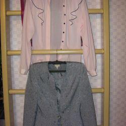 Jacket și bluză
