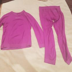 Thin breathable thermal underwear 125-134