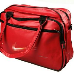 Red sports bag new