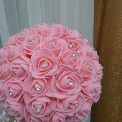 New bride's bouquet