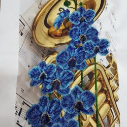 Beadwork Orchid