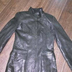 ?Leather Jacket Womens 100% Leather Turkey Size 44