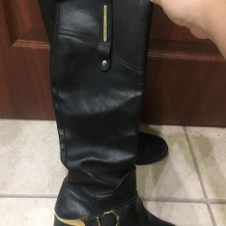 Light boots, leather 35