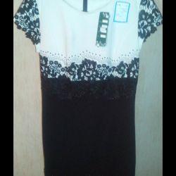 Платье новое,продаю много одежды р.50маломер