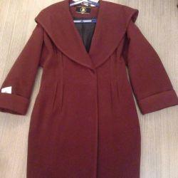 Παλτό με κουκούλα νέο