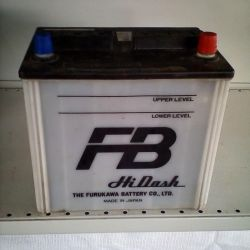 Used FB 60AH 320A Asia battery