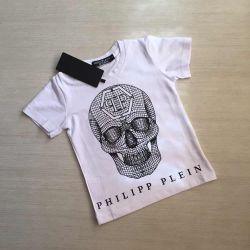 Новая белая футболка,размеры 2-7 лет